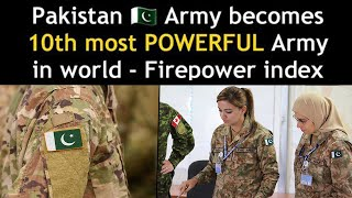 Pakistan has become the 10th most Powerful Military Power in the world - Pakistani Reactions