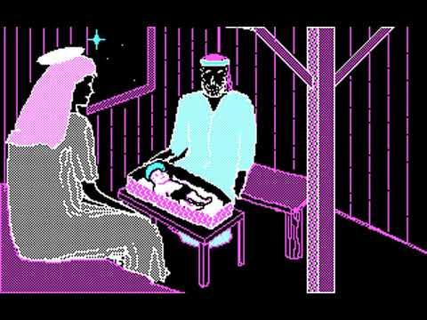 Electronic Christmas Card (John F. Allen Jr.) (MS-DOS) [1988]