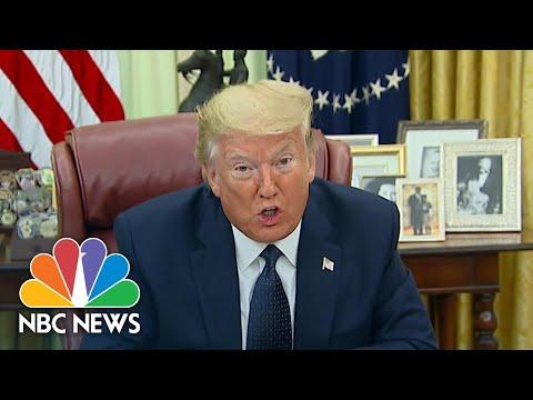 Trump Signs Executive Order Aimed At Social Media Companies After Twitter Fact Check | NBC News
