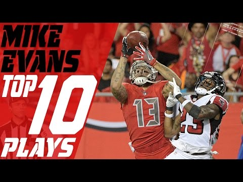 Mike Evans Top 10 Plays of the 2016 Season | NFL Highlights