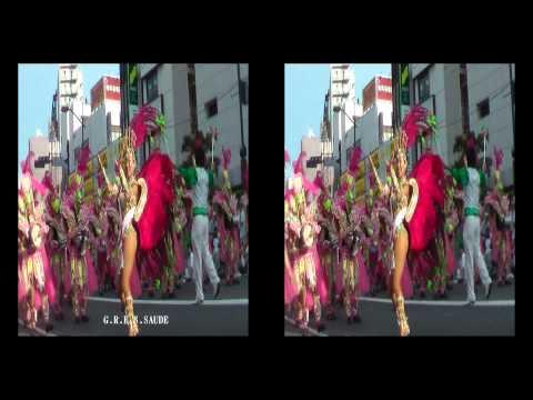 2010浅草サンバカーニバル3D sexyダイジェスト