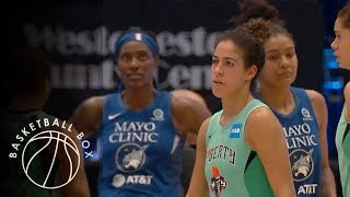 [WNBA] Minnesota Lynx vs New York Liberty, Full Game Highlights, June 12, 2019