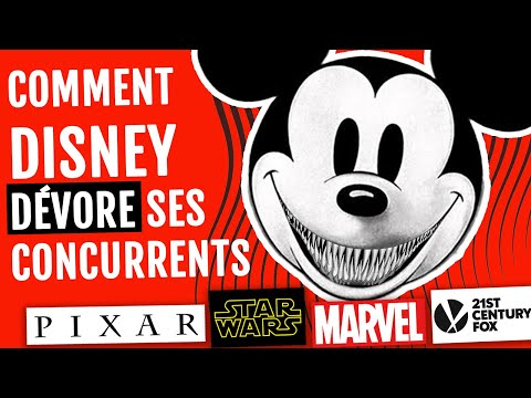 Comment Disney dévore ses concurrents : Pixar, Marvel, Star Wars