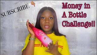How TO SAVE YOUR MONEY | MONEY IN A BOTTLE CHALLENGE | LALA'S CENTRAL