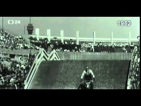 1962 Czech Stadium Moto-cross, (Supercross), at Strahov Stadium Prague