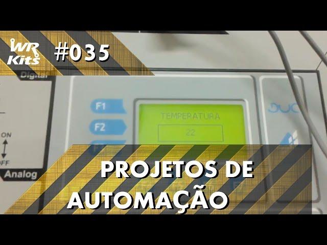 SENSOR DE TEMPERATURA LM35 COM CLP ALTUS DUO | Projetos de Automação #035
