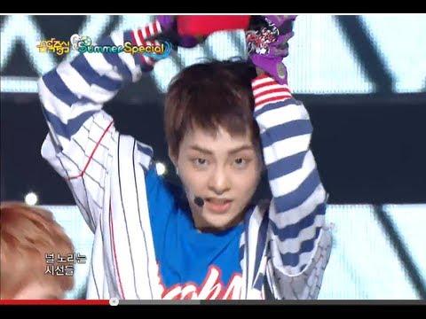 EXO - Growl, 엑소 - 으르렁, Music core 20130810