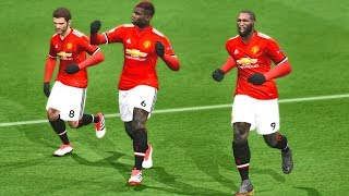 Manchester United vs West Brom | Premier League 15 April 2018 Gameplay