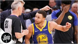 Players' treatment of refs could damage the NBA long-term - Amin Elhassan | The Jump