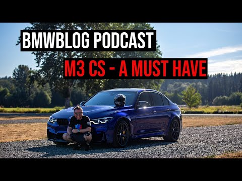 Podcast EP.49 - F80 M3 CS, New M3 and Electric BMWs