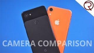 iPhone XR VS Pixel 3a XL Camera Comparison!