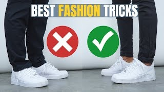 The 7 BEST Fashion TRICKS All Men Should Know - YouTube