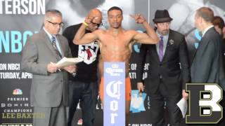 PREMIERE BOXING CHAMPIONS UNDERCARD WEIGH IN - Samuel Vargas