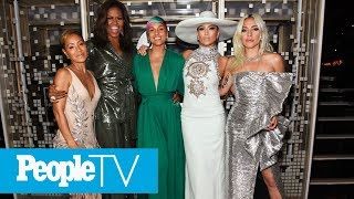 Alicia Keys Kicks Off Grammys With Michelle Obama, Lady Gaga, Jada Pinkett Smith And J.Lo   PeopleTV