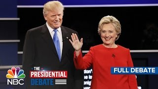 The First Presidential Debate: Hillary Clinton And Donald Trump (Full Debate)   NBC News