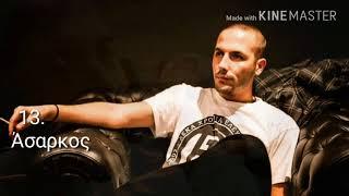 Οι 20 καλύτεροι ράπερ στην Ελλάδα / Top 20 Rappers in Greece