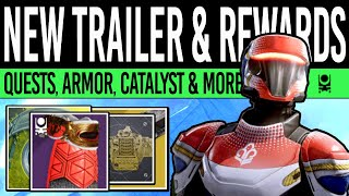 Destiny 2   NEW EVENT TRAILER! Exotic LOOT! New Quests, Event Armor, Catalyst Revealed & More!