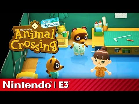 24 Minutes of Animal Crossing New Horizons Gameplay | Nintendo Treehouse E3 2019