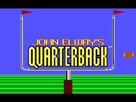 John Elway's Quarterback (Leland Corporation) (MS-DOS) [1988]