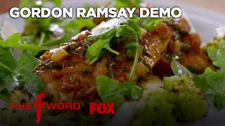 Gordon's Chicken Cacciatore Recipe: Extended Version | Season 1 Ep. 9 | THE F WORD