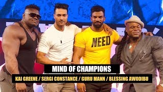 Mind of Champions Talk Show - Kai Greene / Sergi Constance / Guru Mann / Blessing Awodibu