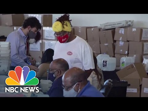 Election Count Fact Check: Debunking Baseless Claims Of Voter Fraud | NBC News NOW