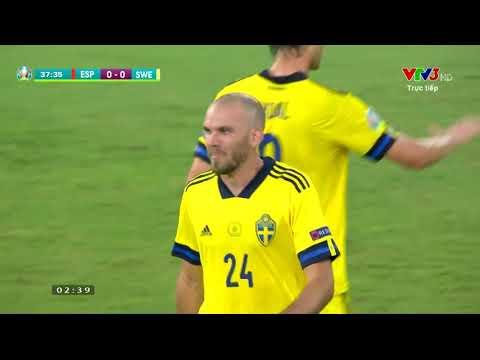 EURO 2020 | HIGHLIGHT | HIỆP 1 | TÂY BAN NHA VS THỤY ĐIỂN