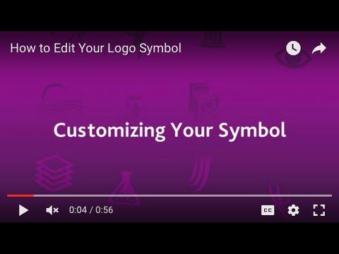 Logo Maker Tutorial: Editing the Symbol
