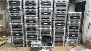 Tủ Nhựa ABS 8U 10U Chuyên Dụng đựng Thiết Bị Xử Lý âm Thanh | Minh Anh AUDIO