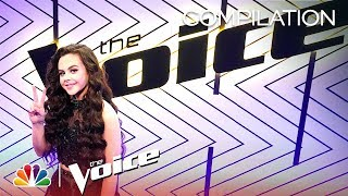 Chevel Shepherd's Journey on The Voice - The Voice 2018 (Compilation)