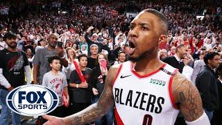 Ric Bucher and Jason McIntyre on Dame Lillard's BIG SHOT; NBA Top-10 | KNOCKDOWN J | FOX SPORTS