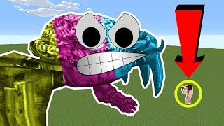 Minecraft: HUMONGOUS BOSSES!!! (RUN OR DIE!!!) Mod Showcase