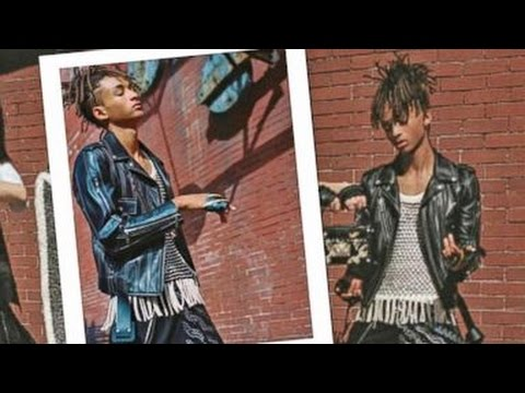 Jaden Smith Models Louis Vuitton Skirts for Womenswear Campaign