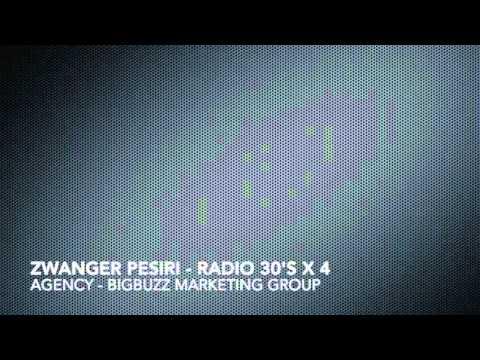 Bigbuzz Marketing Group - Radio Production - Zwanger Pesiri -  radio spots 30's x4