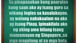 essay writing samples tagalog