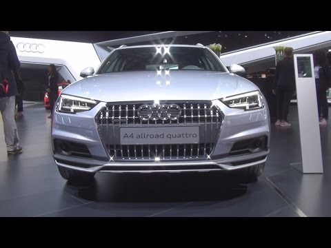 Audi A4 Allroad Quattro 2.0 TFSI S tronic 185 kW (2016) Exterior and Interior in 3D