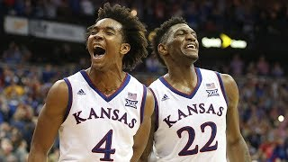 KANSAS JAYHAWKS: 2018 BIG 12 TOURNAMENT CHAMPIONS