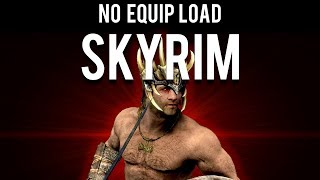 How to Beat Skyrim with 0 Equip Load