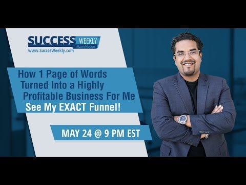 How 1 Simple Page of Words Turned Into a $4.6 Million Business - Copy My Entire Funnel!