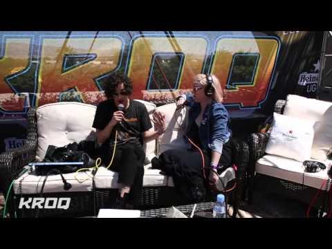 Kat Corbett Interviews The 1975 at the KROQ Coachella House