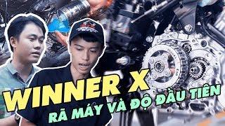 Rớt đầu & rã máy Honda Winner X đầu tiên tại VN để xem có gì cải tiến và cần thay thế bộ phận nào ?