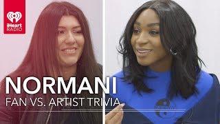Normani Challenges Super Fan In Trivia About Herself   Fan vs. Artist Trivia