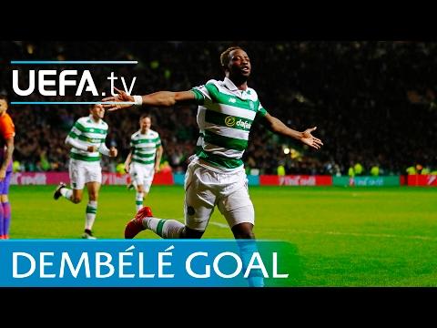 Moussa Dembélé spectacular goal - Celtic v Manchester City