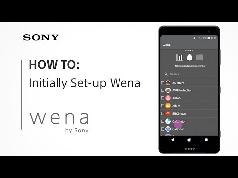 HOW TO set up wena