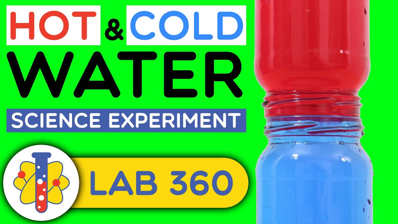 Hot And Cold Water Science Experiment Youtube