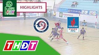 Highlights Futsal Truyền hình Đồng Tháp 2018 | Bạch Mai Cần Thơ vs Đạm Cà Mau | THDT