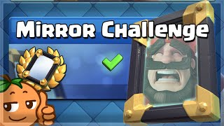 The MOST SKILLED Challenge in Clash Royale 🍊