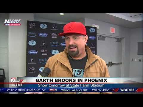 GARTH BROOKS IN AZ: Interview with Christina Carilla Ahead of Show at State Farm Stadium