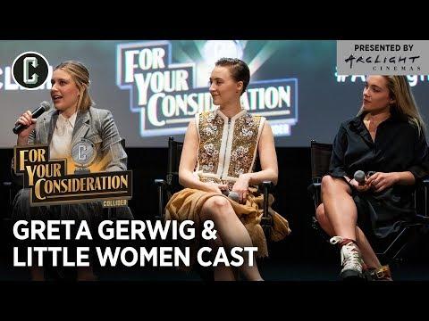 Little Women Q&A: Greta Gerwig, Saoirse Ronan & Florence Pugh - Collider + Arclight FYC Series