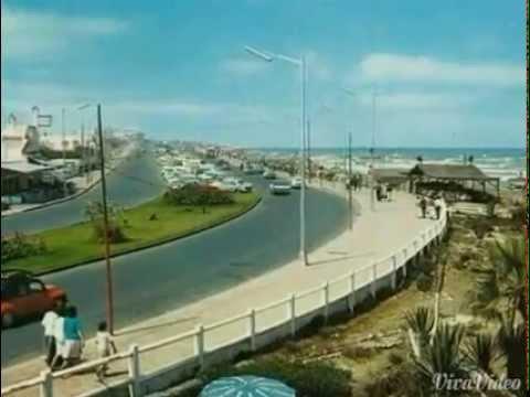 فيديو نادر جدا لكورنيش عين الذياب في الستينات